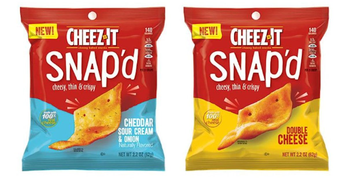Free Sample of Cheez-It Snap'd