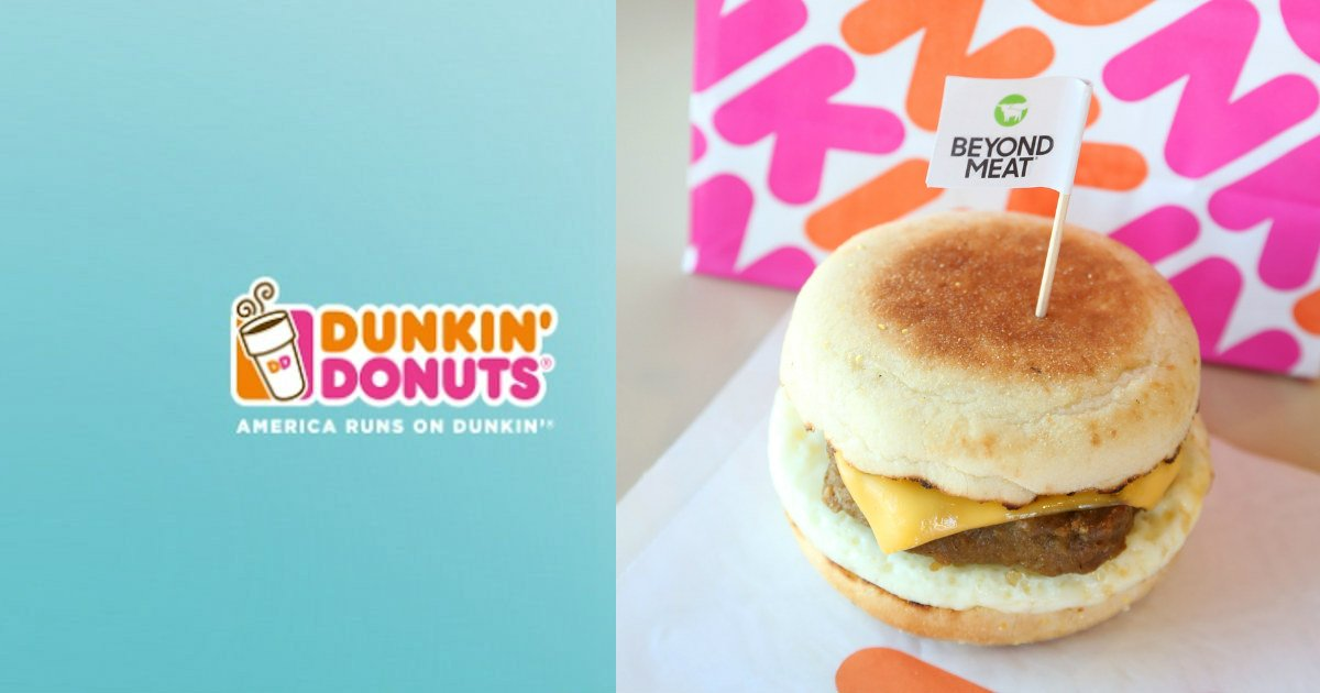 Free Beyond Sausage Sandwich at Dunkin Donuts - Today