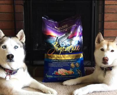 Zignature® low-glycemic dog food
