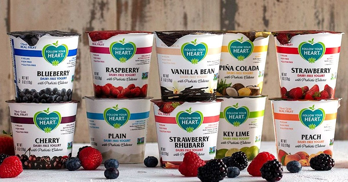 Free Follow Your Heart Dairy-Free Yogurts