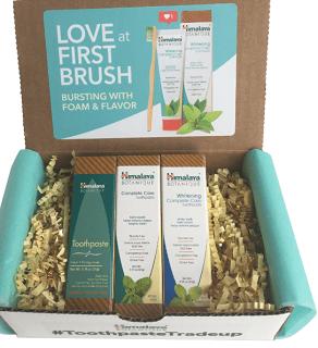 FREE Himalaya Botanique Toothpaste Sample