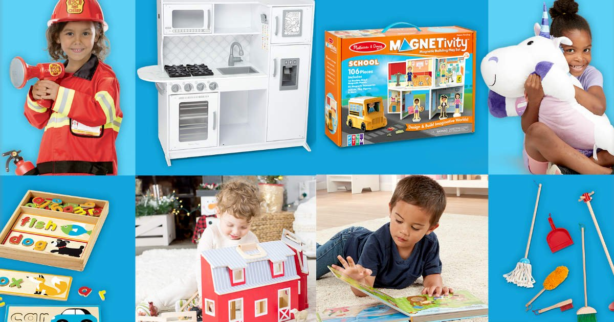 Win a Collection of 25 Melissa & Doug Toys