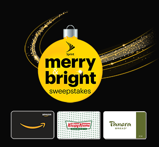 Sprint Merry & Bright Instant Win Game (5,000 Winners!)