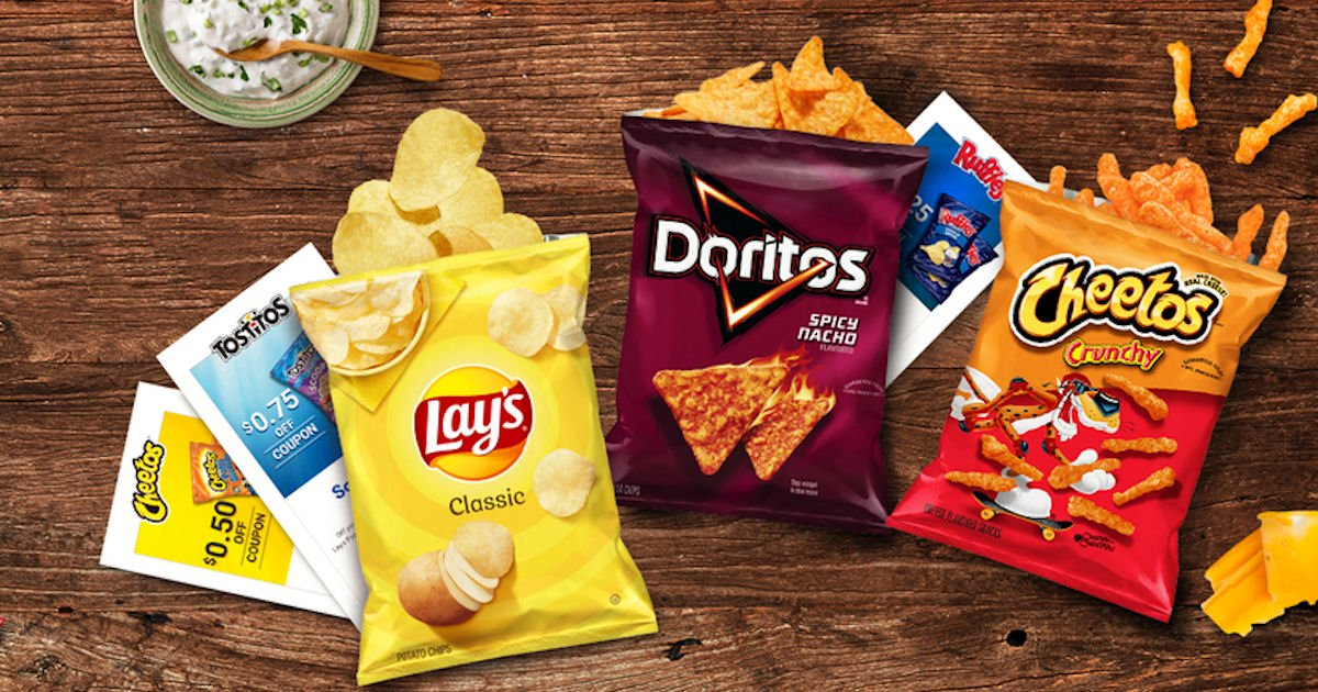 Free Frito-Lay Coupons Mailed to You