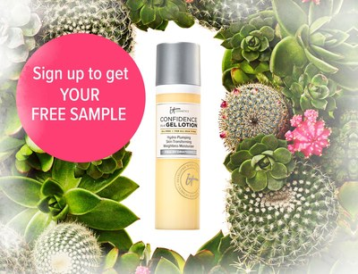 It Cosmetics Confidence in a Gel Lotion Sample for Free