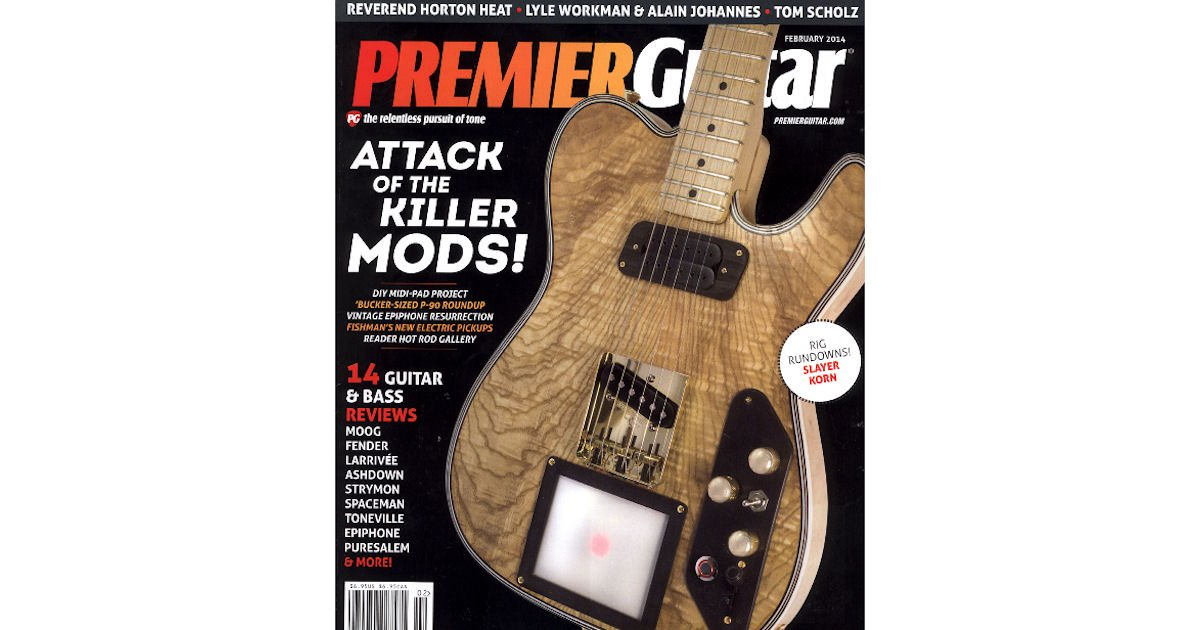 5 Free Issues to Premier Guitar Magazine