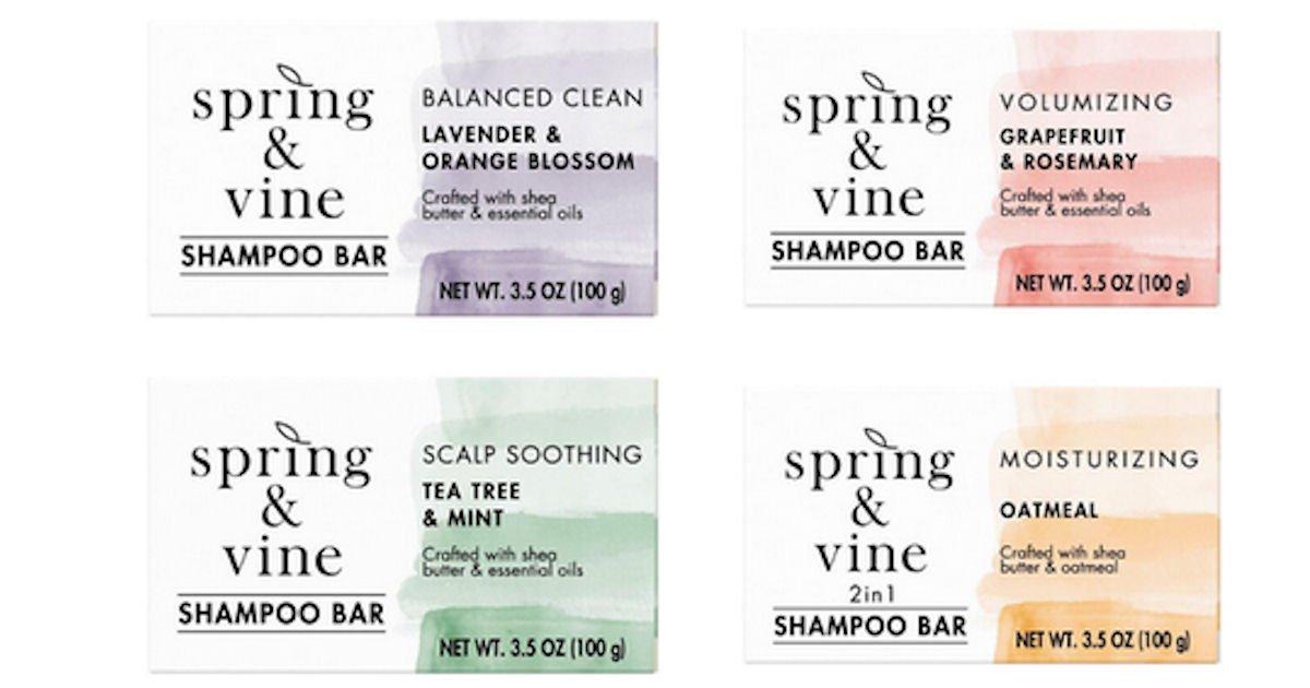 Free Spring & Vine Shampoo Bar