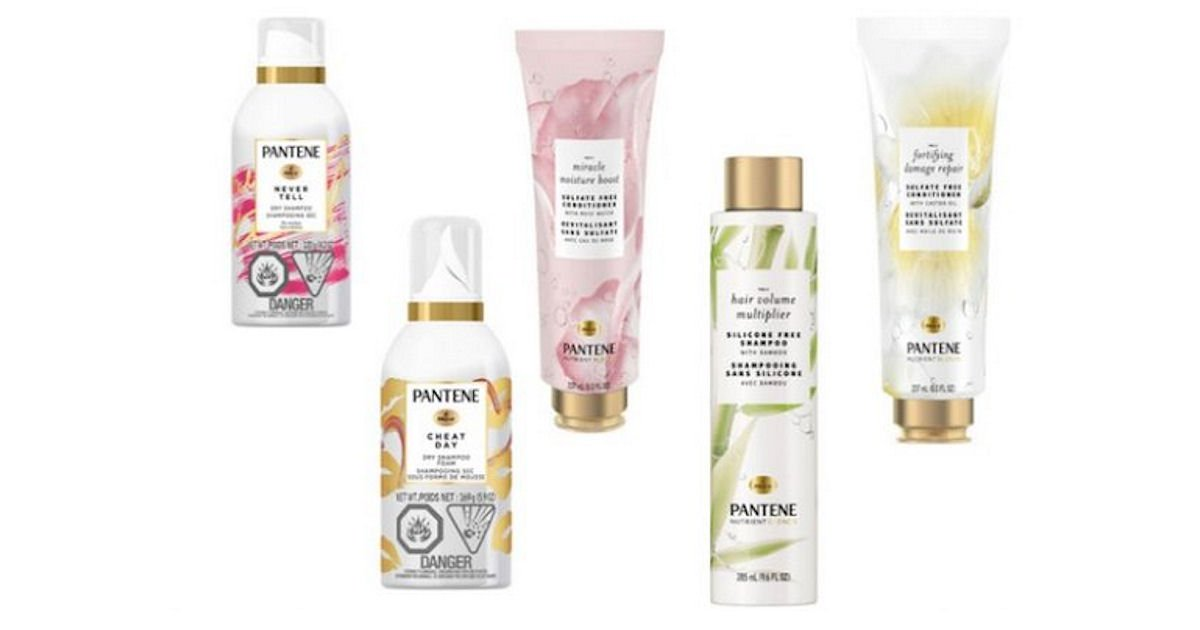 Free Pantene Haircare Products