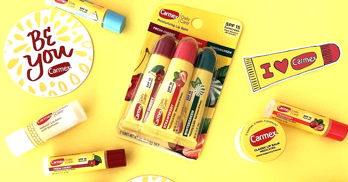 Free Carmex Products & Swag