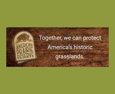 American Prairie Reserve Sticker for Free