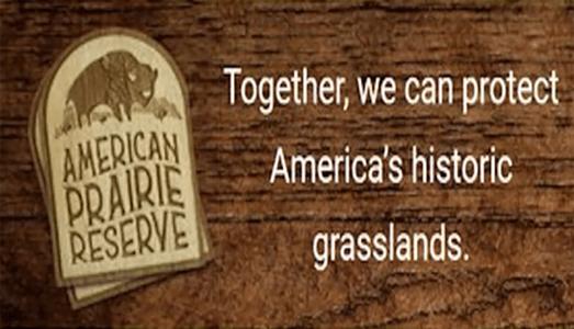 FREE American Prairie Reserve Wooden Sticker