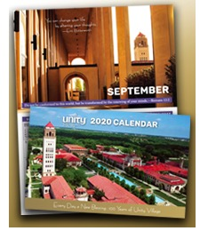 Free Unity 2020 Calendar: Every Day a New Blessing