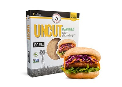 Before the Butcher® UNCUT PLANT-BASED savory chicken burger for Free