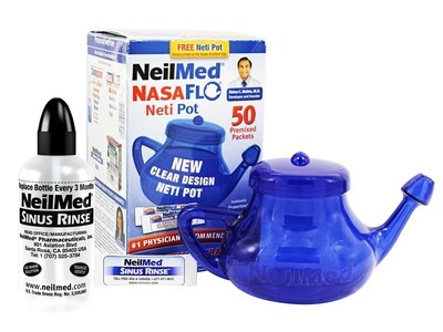 Free NeilMed Sinus Rinse or NasaFlo Neti Pot for Cystic Fibrosis Patients