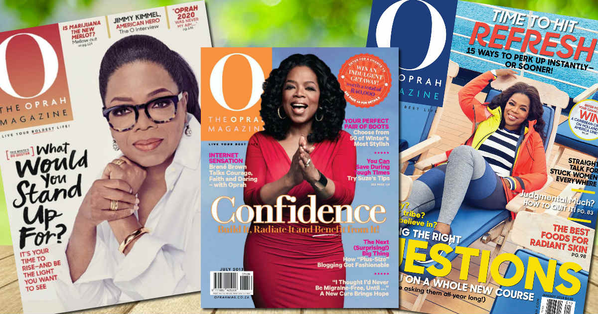 Complimentary Subscription to O, The Oprah Magazine - HURRY