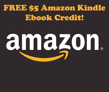 Possible FREE $5 Amazon Kindle Ebook Credit