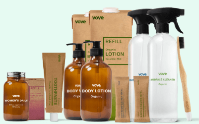 FREE Vove Sustainable Products for referring friends