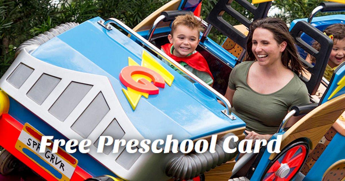 Free SeaWorld + Aquatica Orlando Preschool Card