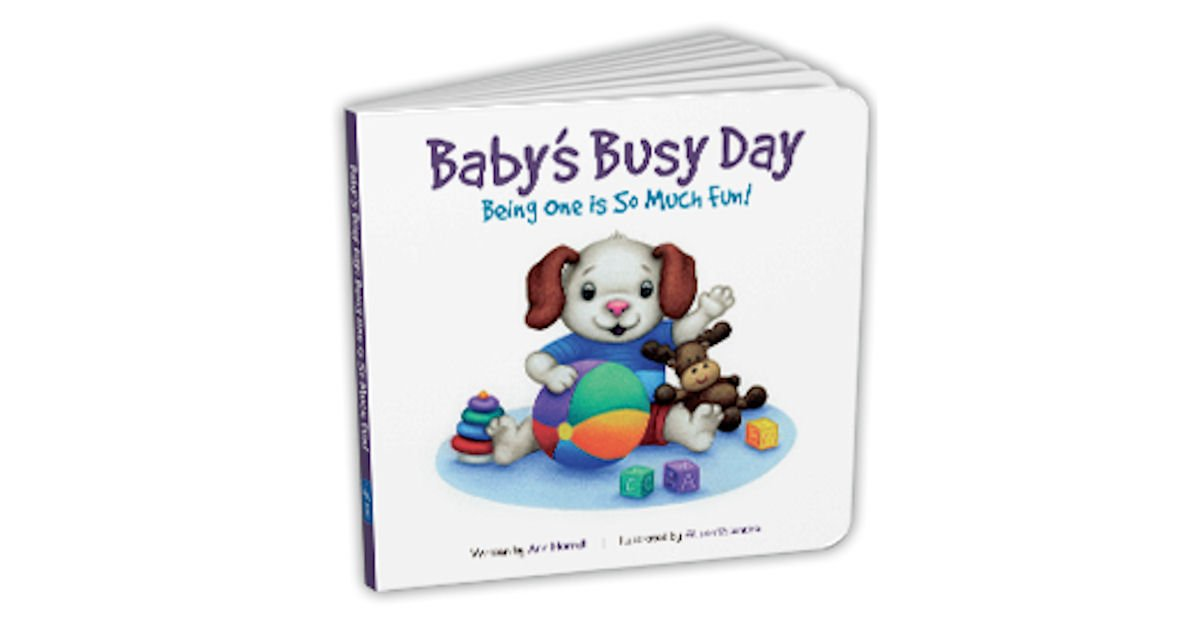 Free Baby's Busy Day: Being One is So Much Fun! Book