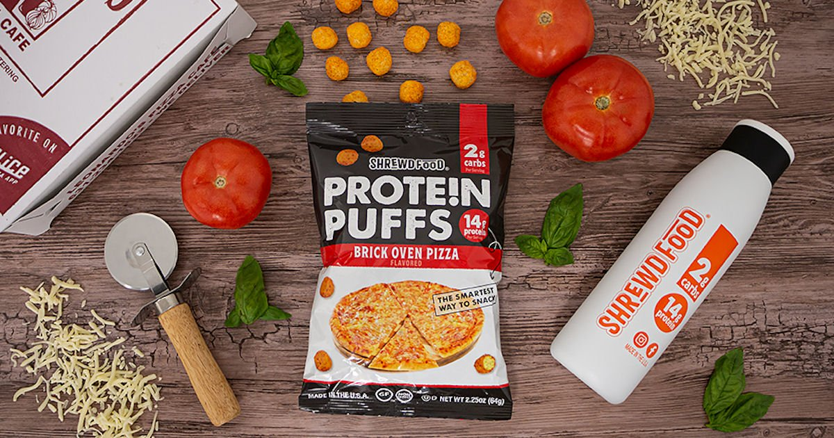 Free Shrewd Food Protein Puffs