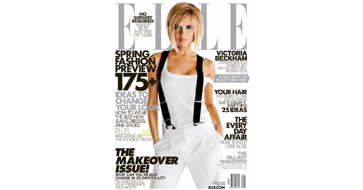 Complimentary 2 Year Subscription to ELLE Magazine - 24 issues