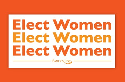 Free Elect Women Sticker