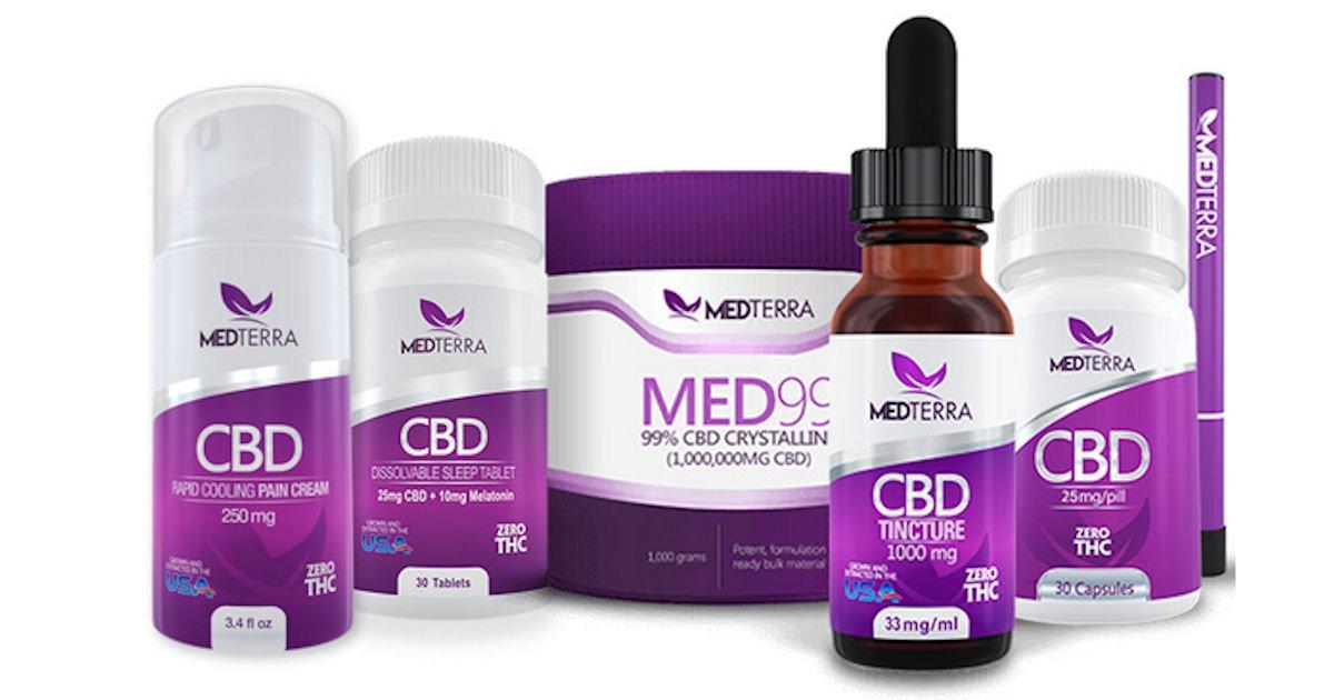 Free Sample of Medterra CBD Product