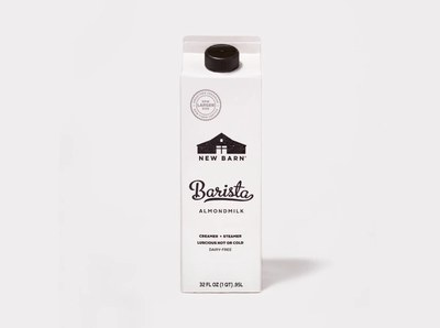 New Barn Organics Barista AlmondMilk for Free