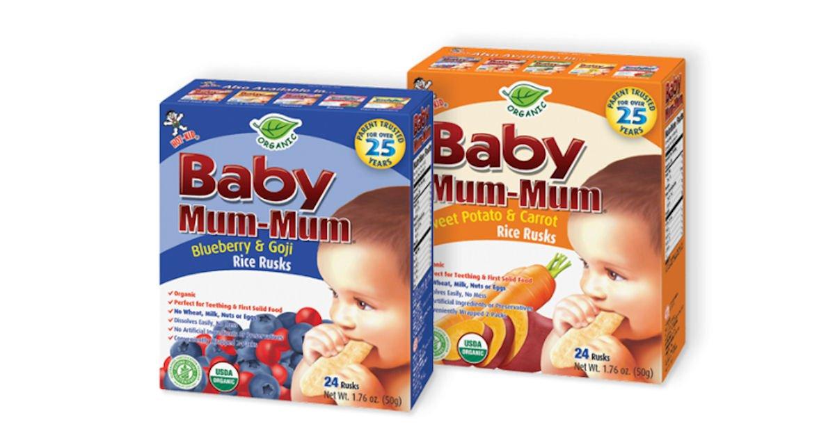 Free Baby Mum-Mum Rice Rusks