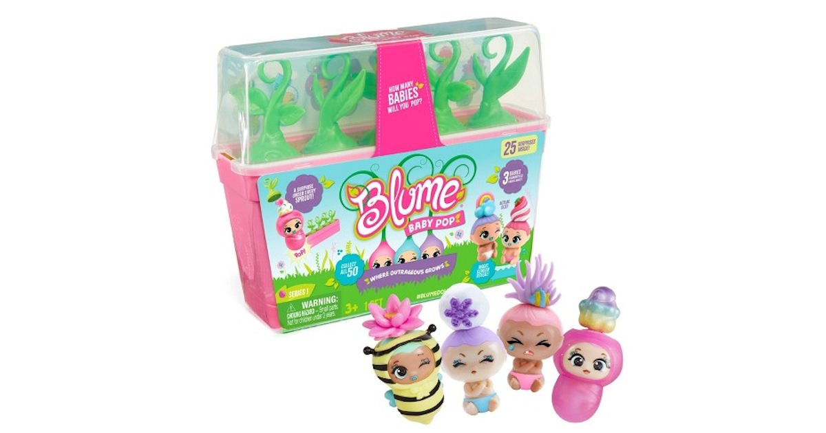 Possible Free $150 Blume Baby Pop Dolls Testing