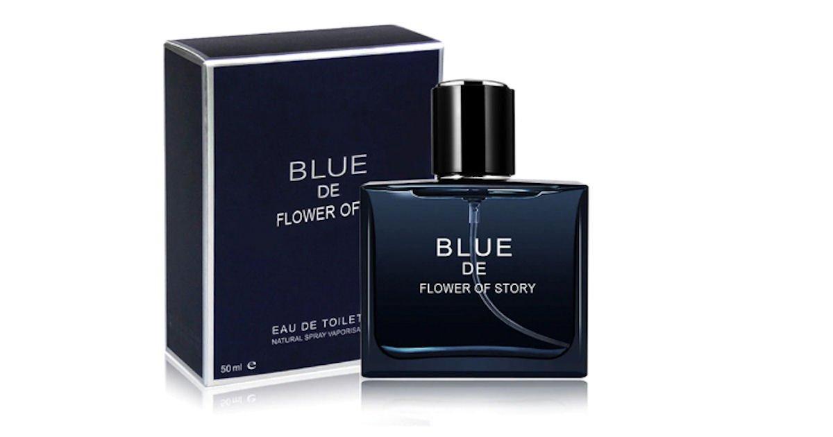 Free BLUE De Flower Story Fragrance Sample