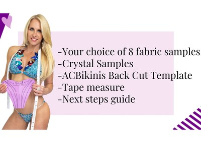 Angel Competition Bikinis Sample Kit for Free
