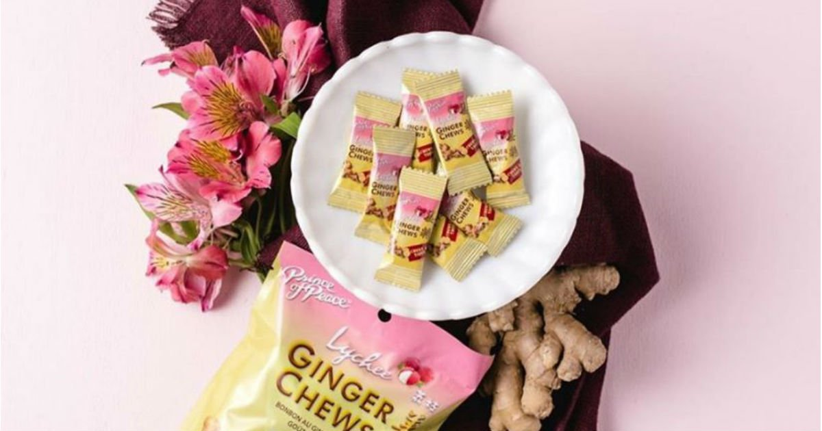 FREE Prince of Peace Ginger Ginger Chews from Daily Goodie Box
