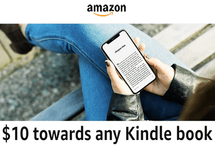 Possible FREE $10 Kindle eBook Credit