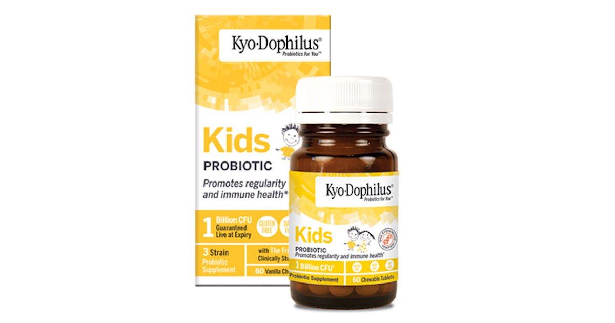 Free Wakunaga of America Kyo-Dophilus Kids Probiotic