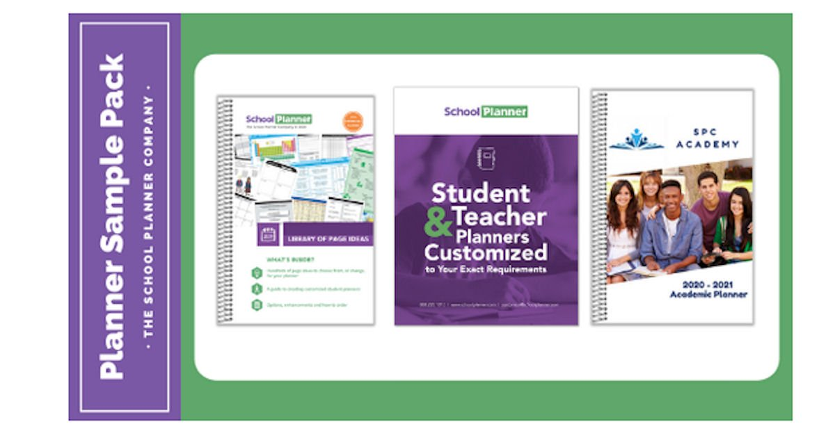 Free School Planner Sample Pack