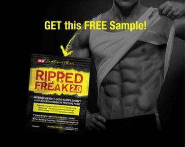 FREE Ripped Freak Fat Burner Sample