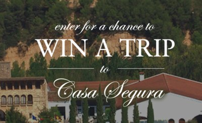 Win a Trip to Casa Segura