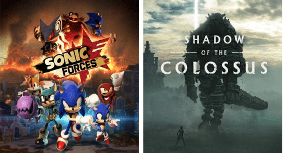 FREE Shadow of the Colossus & Sonic Forces PS4 Digital Games (PS Plus Members)