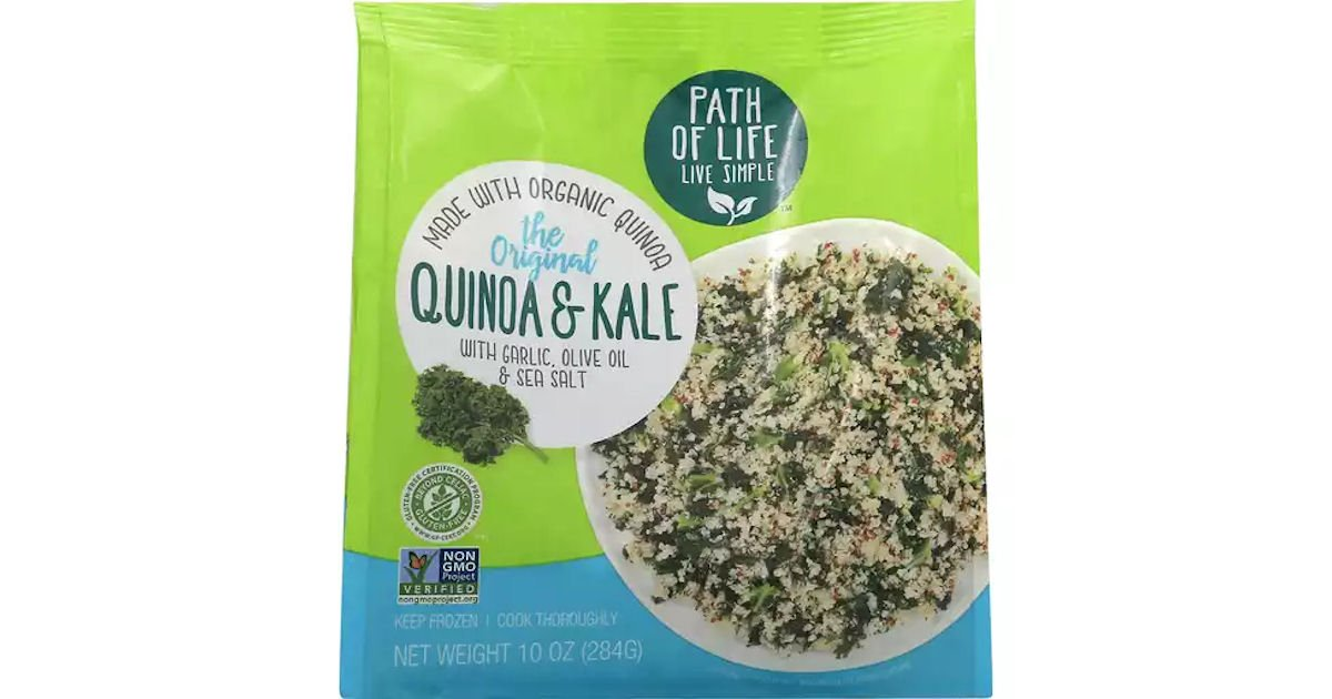 Free Sample of a Path of Life Rice or Quinoa Bowl Product