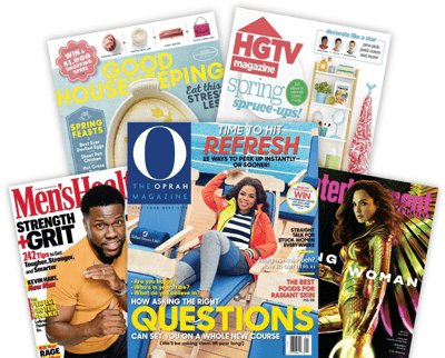 FREE Magazine Subscription Car And Driver, Elle Décor, O' The Oprah Magazine and More!