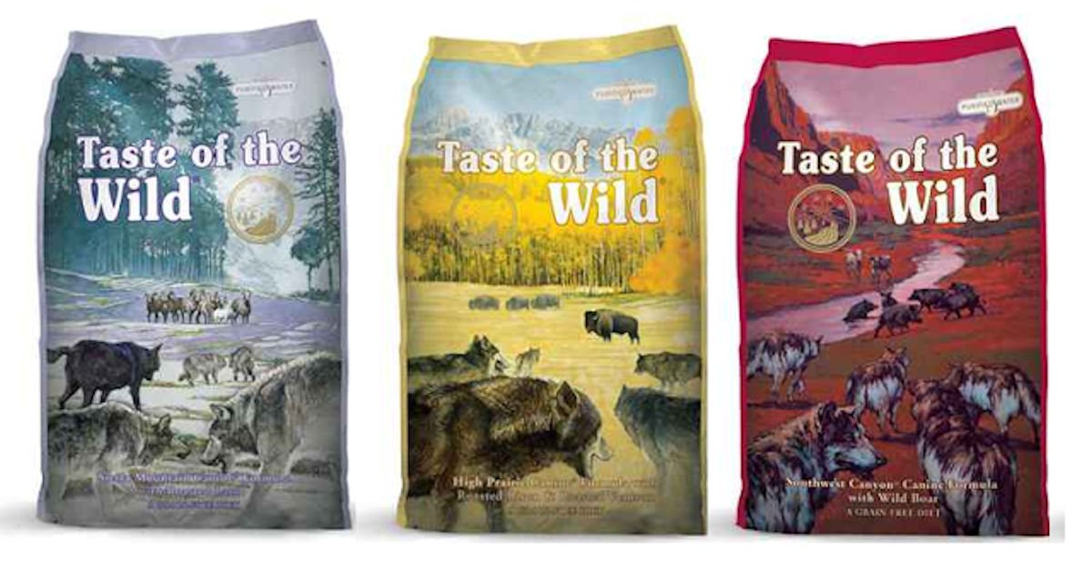 Free Taste of the Wild Pet Food Samples
