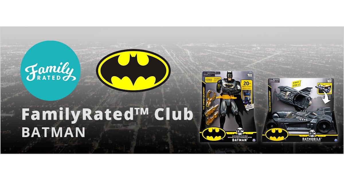 FamilyRated - Free Batman Toys