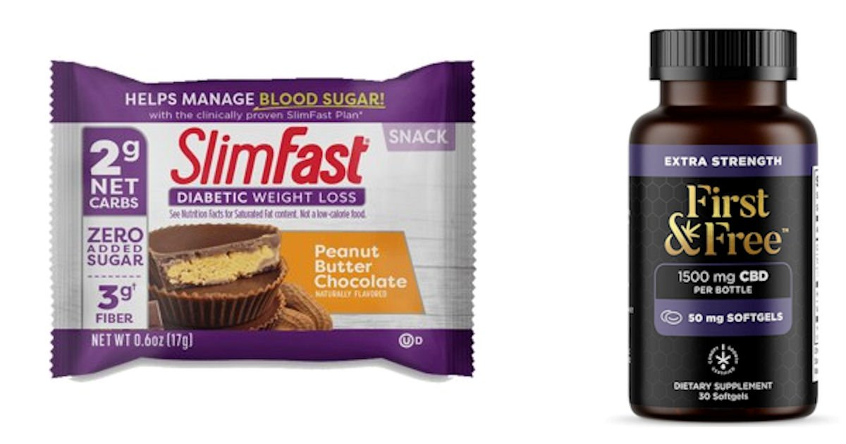 PINCHme - Free Slimfast Peanut Butter Cup & First & Free CBD
