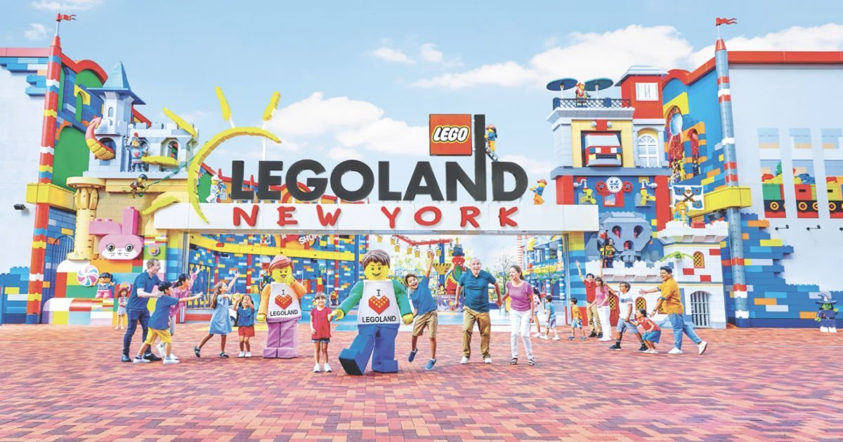 Win a $3,400 Trip for 4 to Legoland's New York Resort