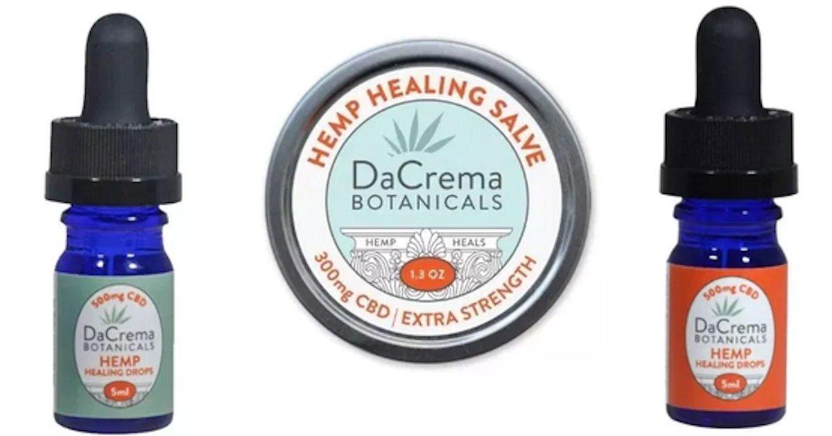 Free Sample of DaCrema Botanicals CBD Products