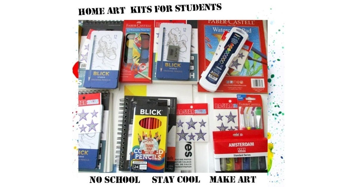 Possible Free Dreaming Zebra Home Art Kit for Students