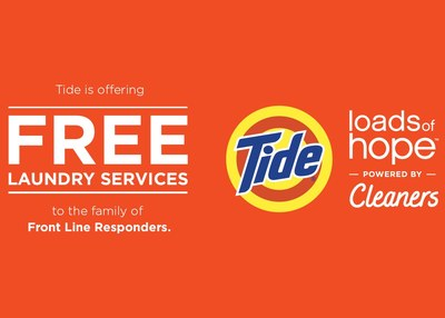 Tide Laundry Service for Front Line Responders for Free