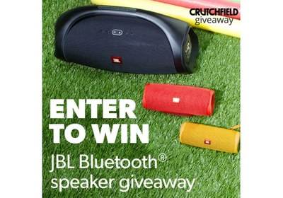 Crutchfield JBL Great Gear Giveaway Spring 2020 Sweepstakes