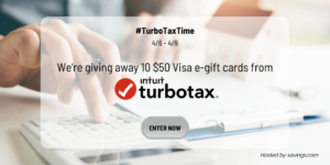 #Turbotaxtime Giveaway
